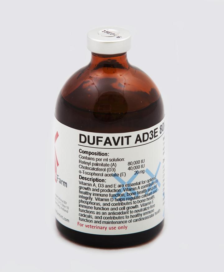 Dufavit AD3E 80/40/20 Inj