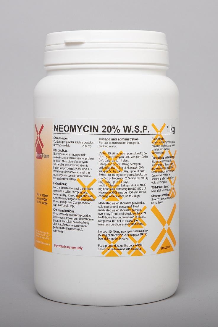 Neomycin 20% wsp