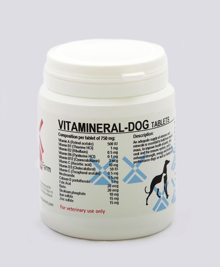 Vitamineral-Dog Tablets